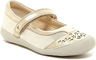 64223 Girls Ritzy Roo Tod Mary Jane Flat ,Champagne 2.5m Us