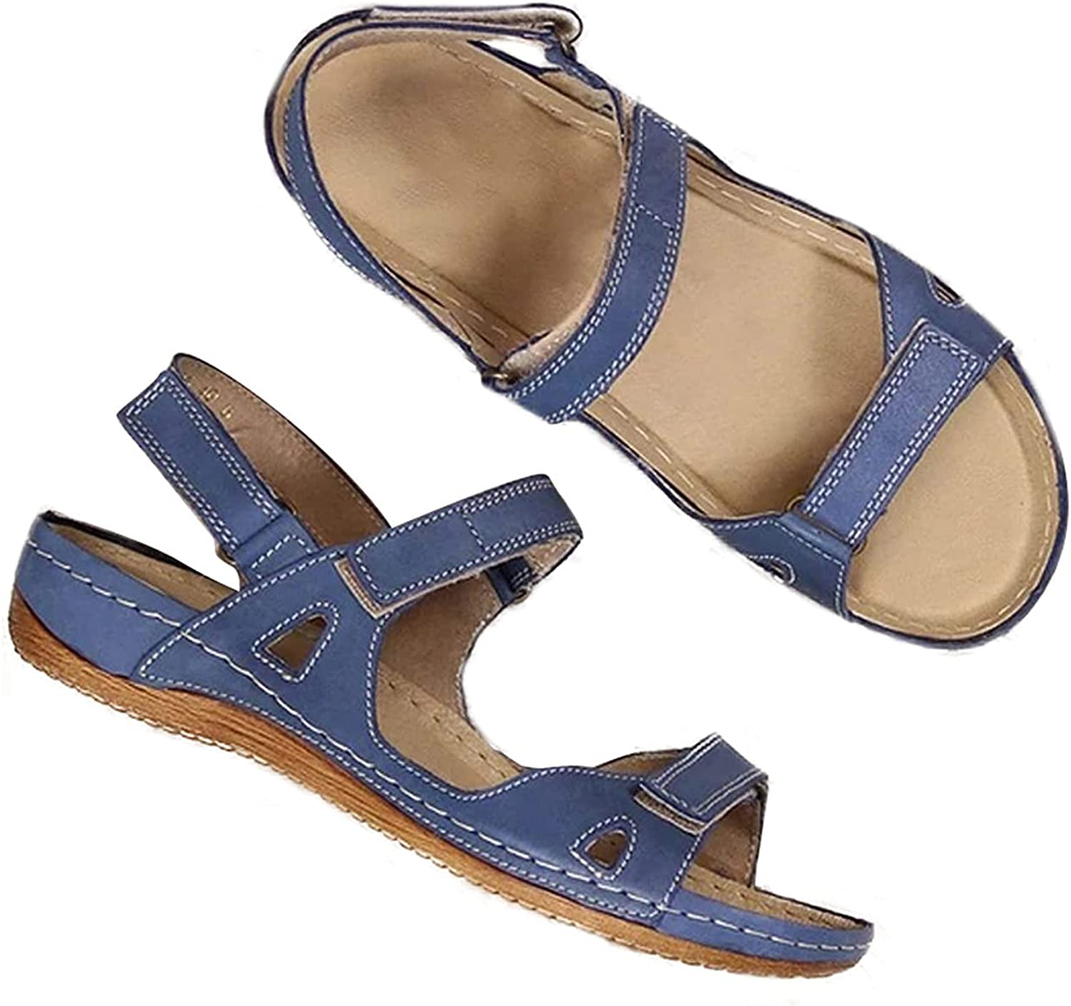 Women's Walking Sandals Comfy for Athletic  Outdoor, Comfortabl