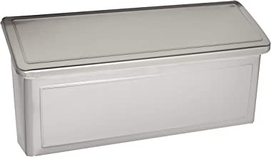Architectural Mailboxes 2690PS-10 Venice Stainless Steel Wall Mount Mailbox, Small
