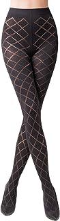 Gabriella trendige Strumpfhose Savia 60 DEN 3D schwarz