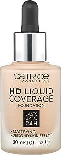 Catrice base de maquillaje hd liquid coverage 020 rose beige 30 ml.