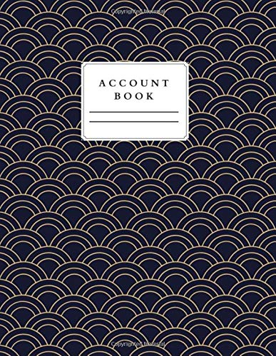 Account Book: Livre Comptable Accounting Ledger