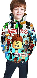 maichengxuan Ro-blox - Sudadera con capucha en 3D para niños y niñas
