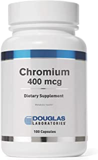 Douglas Laboratories - Chromium 400 mcg - Trace Mineral Supports Healthy Metabolism - 100 Capsules