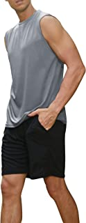 COOFANDY Men's Casual Fashion Short Sleeve Shirt Zipper Slim Fit Crewneck T-Shirts