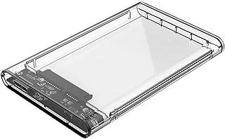 Protokart 2.5 inch USB 3.0 External Hard Drive Enclosure USB 3.0 Transparent Hard Disk Box USB 3.0 Micro to SATA Hard Disk...