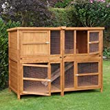 Chartwell Cage à lapins double deluxe 2 m