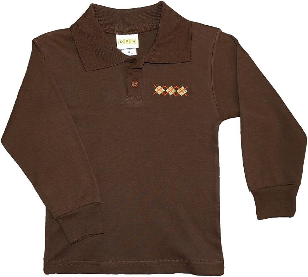 PAM Little Boys' Long Sleeve Polo Shirt