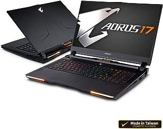 "AORUS 17 SA-7US1130SH 17"" Thin Bezel 144Hz FHD IPS LCD, i7-9750H, GTX 1660 Ti GDDR6 6GB, 16GB DDR4 RAM, M.2 PCIe 512GB SSD, Windows 10 Home Extreme Gaming Laptop"