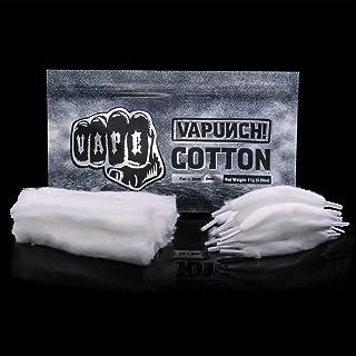 VAPUNCH Cotton VAPE用コットン 電子タバコ DIY用 コットン VAPE ビルド用品 コットン オーガニックコットン VAPE RBA RDA RTA RDTA DIY用コットン (15+5pcs)