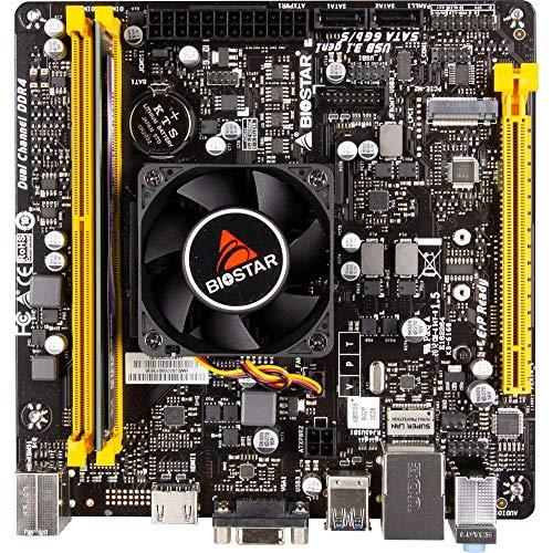 RENKFORCE - Kit de tuning PC,AMD FX,FX 9830 (4 x ,3 GHz) 8 GB,AMD Radeon,R7, Mini-ITX