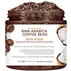Body Essentials Arabica Coffee and Coconut Milk Scrub