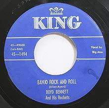 Boyd Bennett & His Rockets 45 RPM Banjo Rock & Roll / My Boy-Flat Top