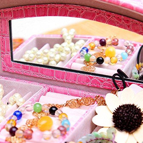 Generic YanHong - uk3 - 160104-44 1yh5784yh edad organizador caso pulsera der pantalla chica sexy Lady titular Traslapo moda caliente caso Joyero JO hion organizadora