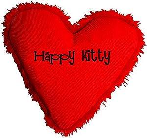 Yeowww Hearrrt Attack Catnip Toy, Happy Kitty