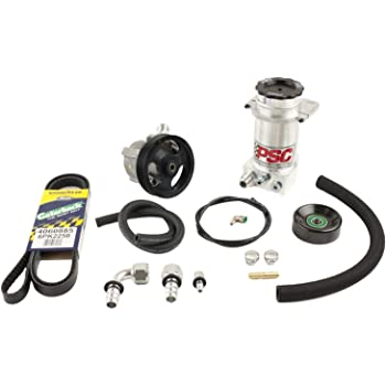 PSC Motor Sports SC2201K Power Steering Assist Cylinder 1.75 Bore x 8 Stroke x .75 Rod w//Rod Ends And Mount Hardware Power Steering Assist Cylinder