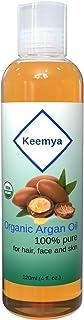 Keemya Organic Argan Oil 120ml (4 oz) Pure For Hair, Face And Skin | زيت ارقان عضوي