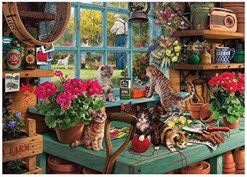 1000 piece puzzles of cats - 8
