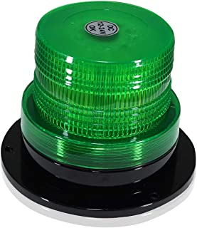 LED Beacon Strobe Light Roof Tow Truck 3 Function 40 SMD Flashing Green