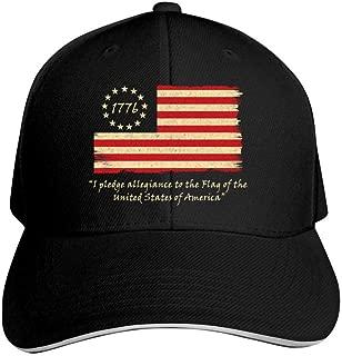 1776 Declaration of Independence Unisex Adult Adjustable Peaked Sandwich Hats Trucker Cap Baseball Cap