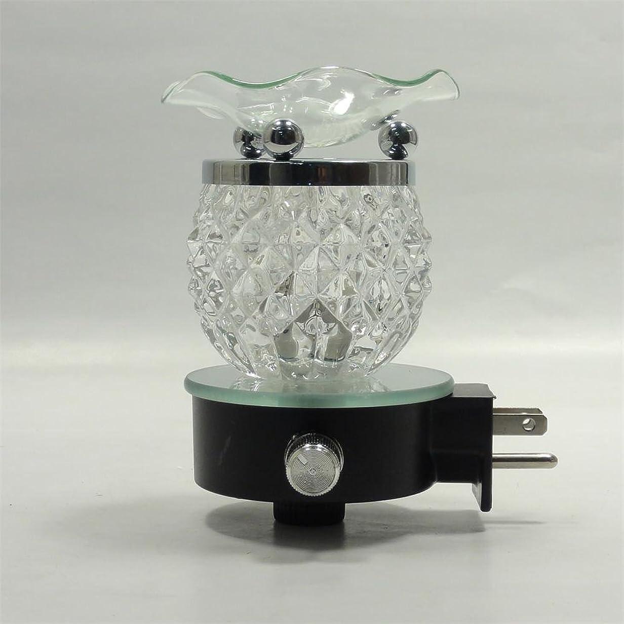 はしご消費者吹雪Electric Oil Warmer Burner Tart Diffuserアロマ香りつきFragrance Essential Oils壁プラグinランプ