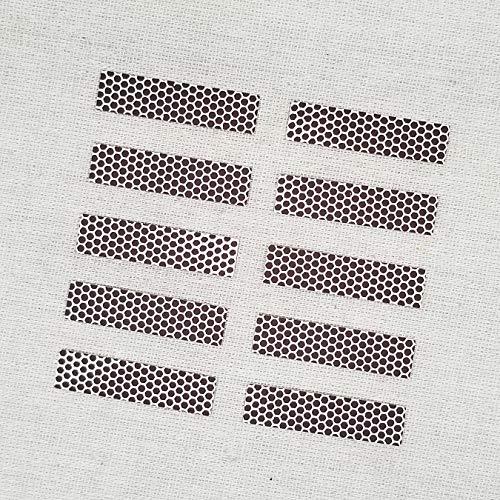 Rectangle Match Strikers 0.50' x 2.00' - Honeycomb Pattern