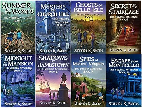 Virginia Mysteries Series Set - Book 1-8