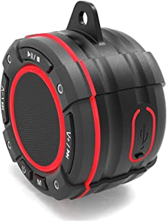 $146 » LKYBOA Seven-Level Waterproof Bluetooth Speaker Outdoor TWS Bluetooth Audio Sports Portable Suction Cup Radio with Light (...