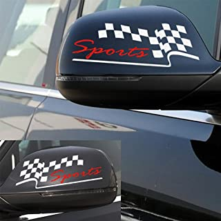 Kaizen Rearview Mirror Sticker Car Sticker Decal for Car Bumper Sticker Vinyl Sticker for Toyota,Honda,Chevrolet,Ford,Mercedes Benz,Audi,BMW and Any SUV,Truck or Sedan Car Color White