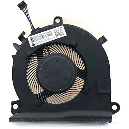 Power4Laptops Replacement Laptop Fan for HP Pavilion 15-cx0013no HP Pavilion 15-cx0013ur Pair HP Pavilion 15-cx0013TX HP Pavilion 15-cx0013ns HP Pavilion 15-cx0013nw