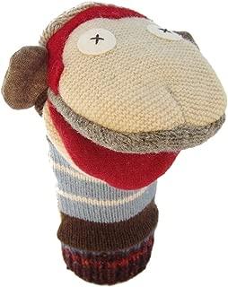 Cate & Levi - Hand Puppet - Premium Reclaimed Wool - Handmade in Canada - Machine Washable (Monkey)