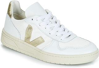 dcb317da8d VEJA V-10 Baskets Mode Femmes Blanc/Doré - 36 - Baskets Basses