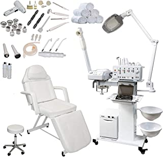 13 in 1 Multifunction Microdermabrasion Beauty Facial Machine (Stationary Bed)