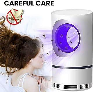 GGCL Eléctrico del Asesino del Mosquito De Luz/UV Papel Matamoscas con Ventilador De Aspiración para El Interior del Hogar, No Tóxico, Fotocatalizador Mosquito Lámpara L113548 Alimentado por USB