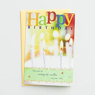 DaySpring Bright Blessings - Birthday Card - 6 Premium Cards