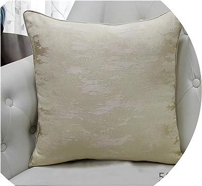 Amazon.com: Azafrán púrpura Cojín (algodón, funda de ...