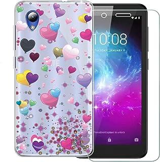 YuhooTech Funda con Cuerda para Xiaomi Mi 9, Suave Silicona Transparente TPU Carcasa de movil con Colgante//Cadena Anti-rasgu/ños Anti-Choque Oro Rosa Moda y Practico