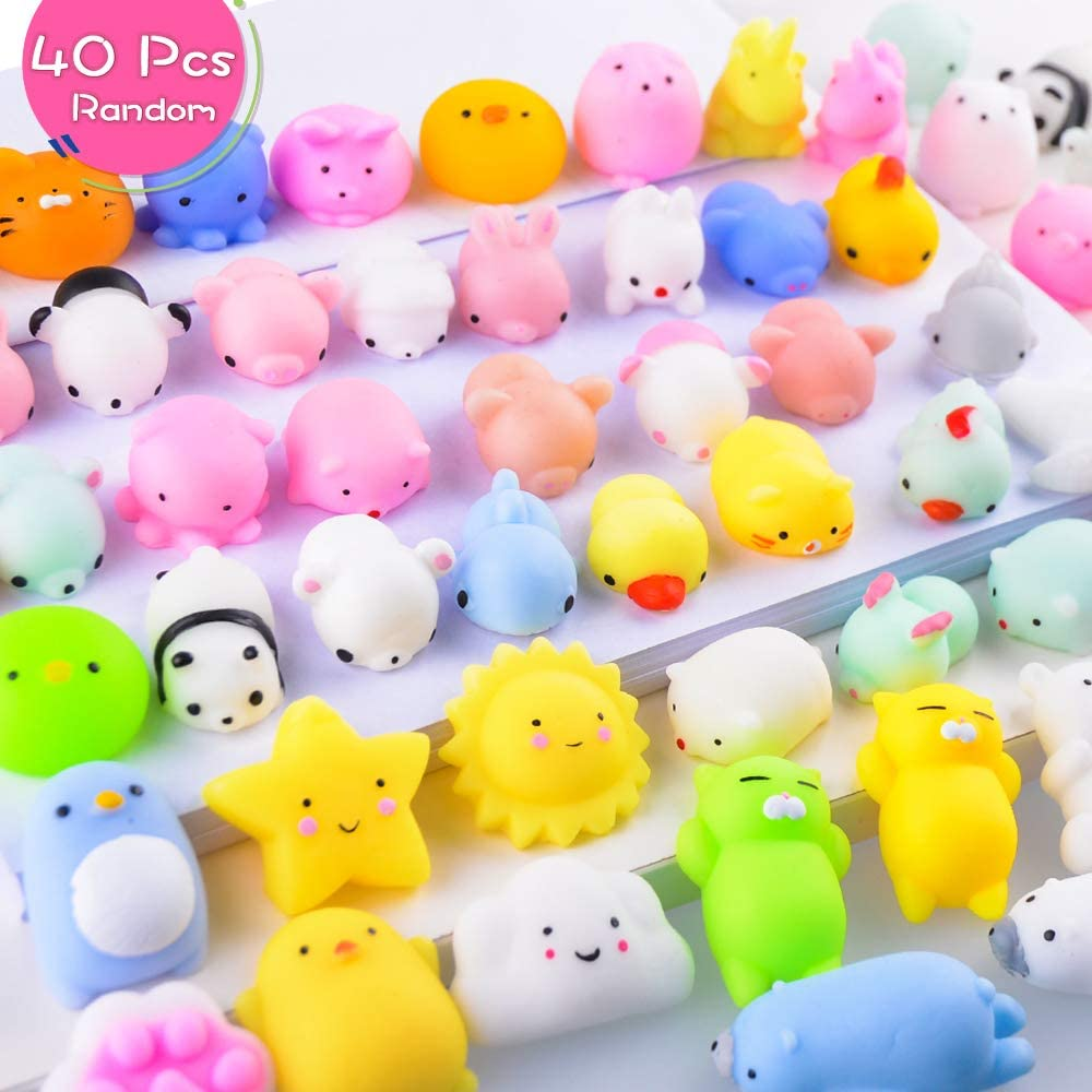 Mini Animal Decompression Toy Stress Relief Cute Kawaii Toys Xmas Gifts
