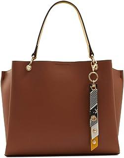 Aldo Satchel Handbag Nusz, Cognac