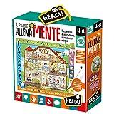 Headu-Il Puzzle Entrenamente, Multicolor, IT20546
