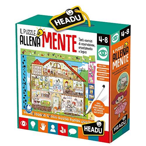 Headu-Il Puzzle Allenamente, Multicolore, IT20546