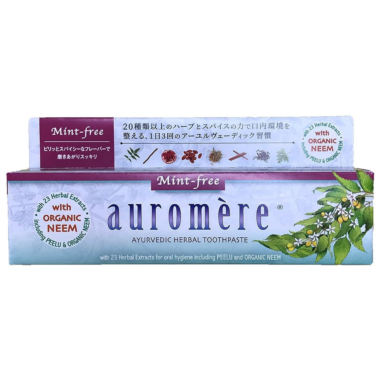 兵士量嘆くオーロメア 歯磨き粉 ミントフリー (100g)