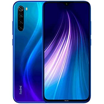 Xiaomi Redmi Note 8 128GB 4GB RAM 48MP Factory Unlocked Global Version Dual SIM Smartphone (Neptune Blue)