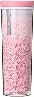 TARBUCKS スターバックス スタバ タンブラー 食器 ロゴ サクラ 桜 さくら 花びら 花弁 スプリング 春 レース グラデーション SAKURA2018タンブラーレース473ml 2018 水筒 ピンク