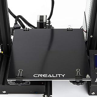 Aibecy【Creality 3D】強化ガラス ホットベッド 3Dプリンター用 プラットフォームシート/ヒートベッドビルドシート 235x235mm Ender-3用