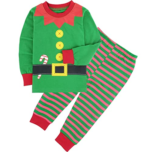 COSLAND Boys Christmas Costume Long Sleeve 2-Piece Pajamas Sets 9be8d06e3