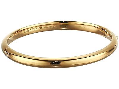 Kate Spade New York Idiom Bangles Bridesmaid Hinged Bangle (Gold) Bracelet