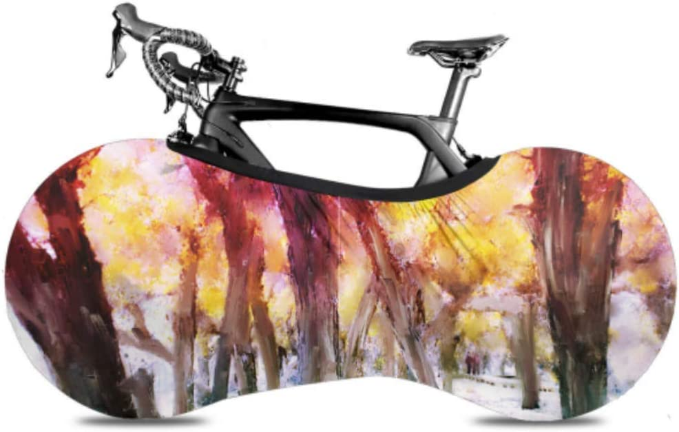 VvxXvx Beautiful Landscape Popular brand in the world Forest Bike Bicycle Cover Dust Wheel Sales of SALE items from new works