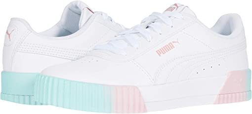Puma White/Aruba Blue/Bridal Rose