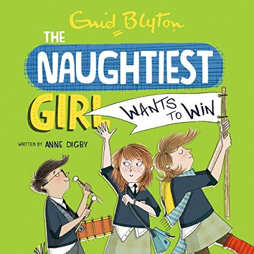Naughtiest Girl Wants to Win cover art